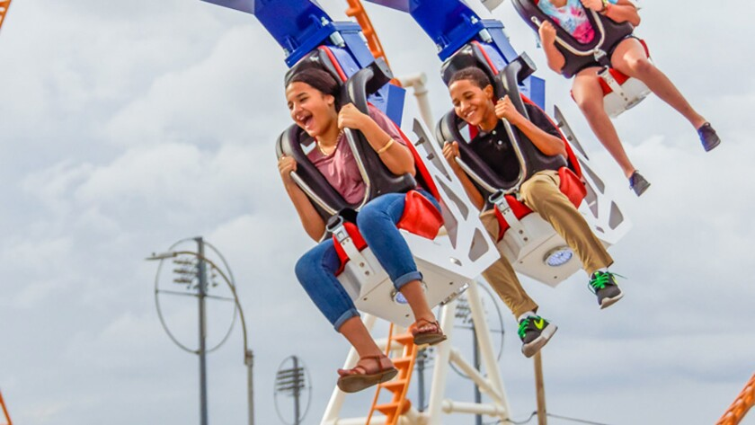Alabama's Owa theme park will feature an Enterprise-style thrill ride built by Zamperla.