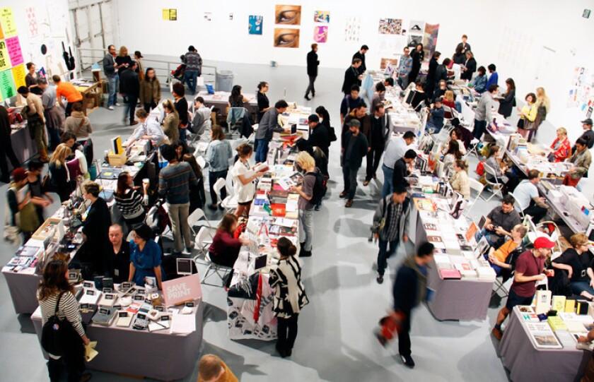 Art Los Angeles Contemporary, L.A. Art Book Fair this weekend
