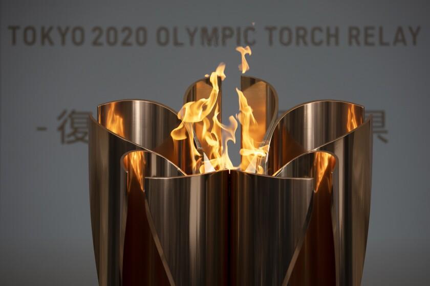 Olympics Tokyo Flame