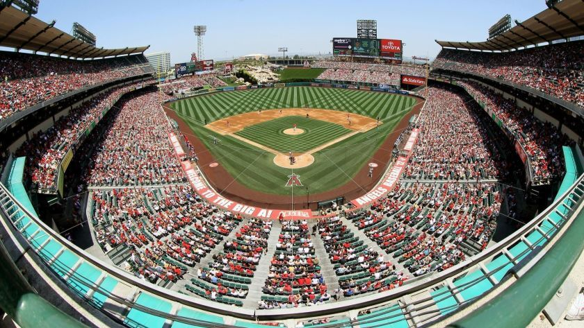 The Angels could be playing at Angel Stadium in Anaheim through the 2029 season if they don't opt out of their lease.