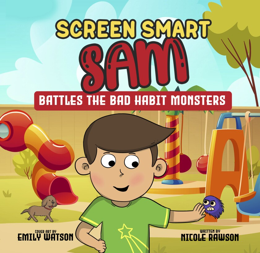 """""""Screen Smart Sam"""" by La Jolla resident Nicole Rawson aims to help families limit screen time."""