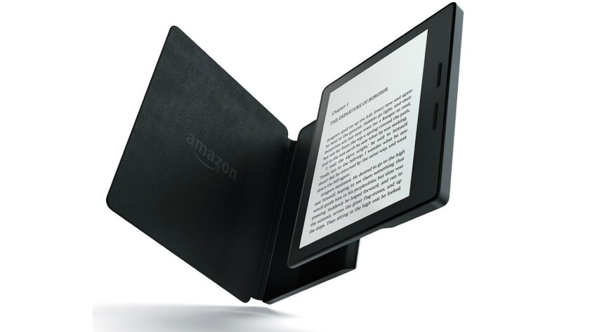 So good-looking, but not such good reading: Amazon's Kindle Oasis.