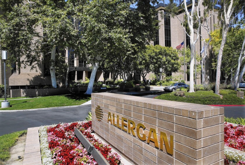Valeant offer causing angst among Allergan workers, Irvine officials
