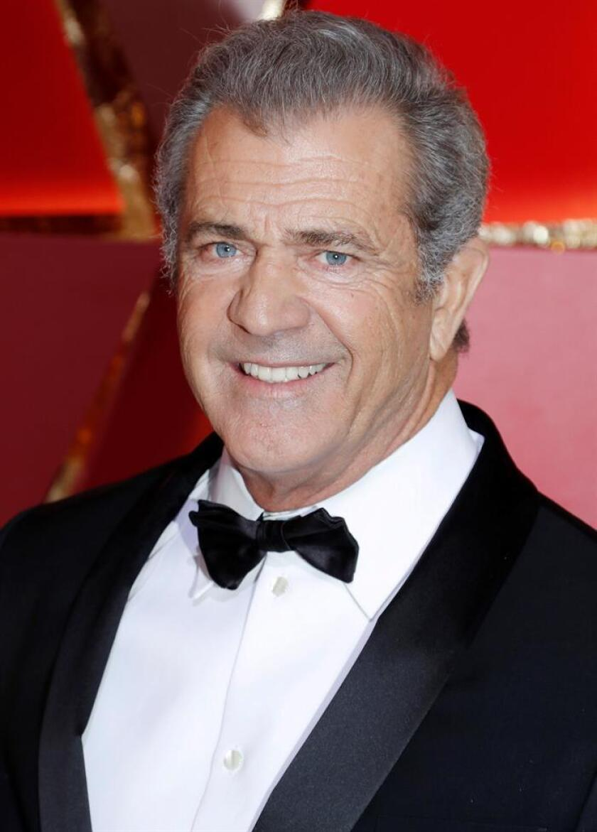 Mel Gibson arrives for the 89th annual Academy Awards ceremony at the Dolby Theatre in Hollywood, California, USA, 26 February 2017. EFE/FILE