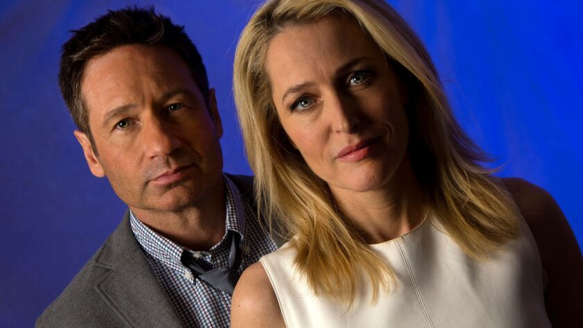 "David Duchovny and Gillian Anderson returned for the new ""X-Files"" series."