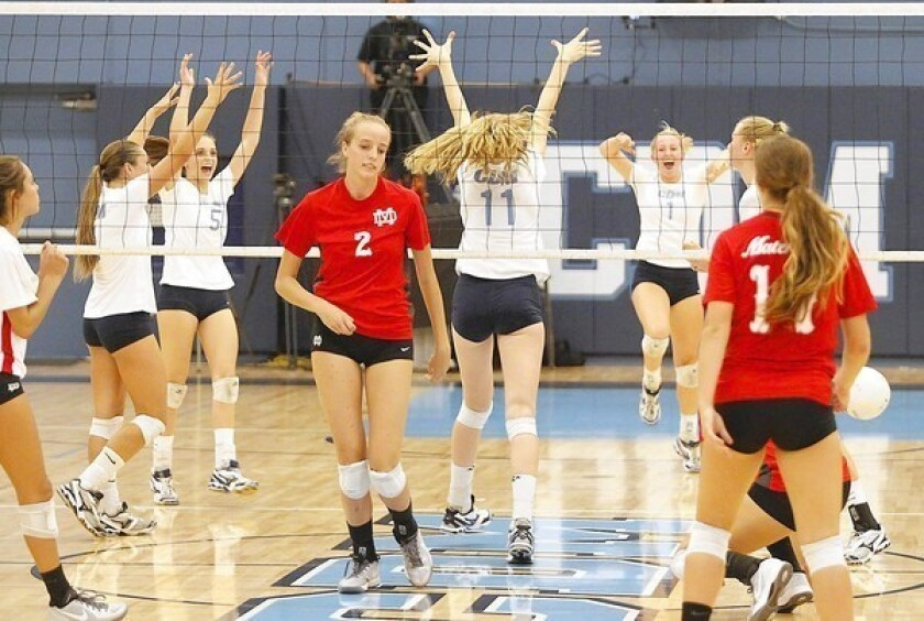 Girls' Volleyball: Shebby too much for CdM