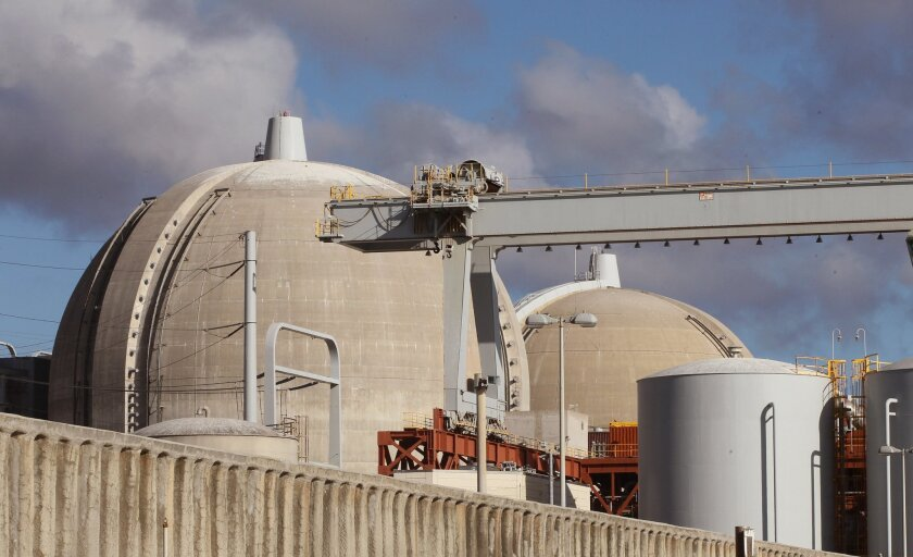 The San Onofre Nuclear Generating Station has been officially closed since June 2013. [U-T file]