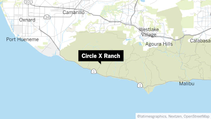 The Circle X Ranch is a popular hiking destination in the Santa Monica Mountains.