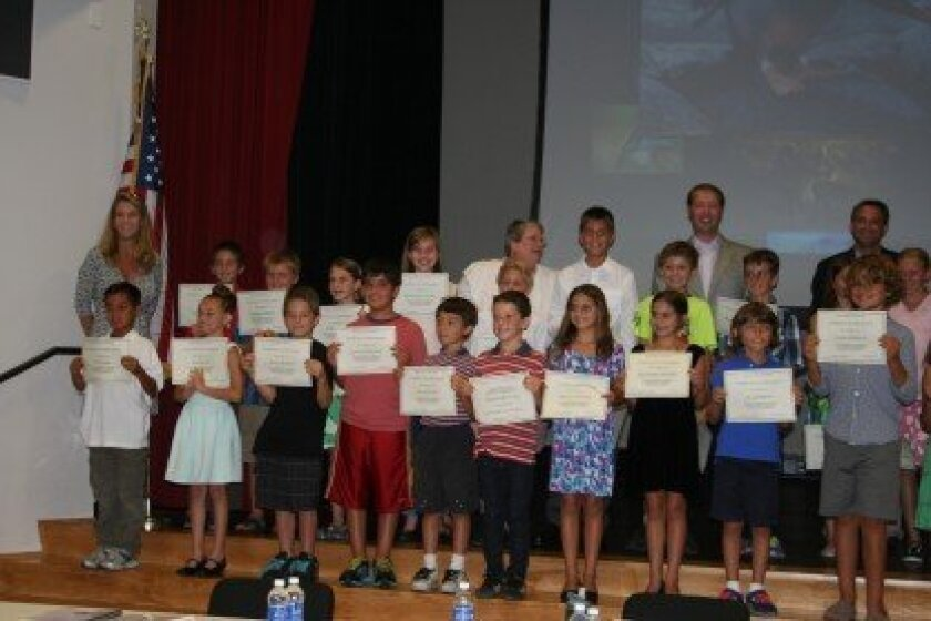 The Rancho Santa Fe School District recently honored 48 students who achieved perfect scores on their STAR tests.