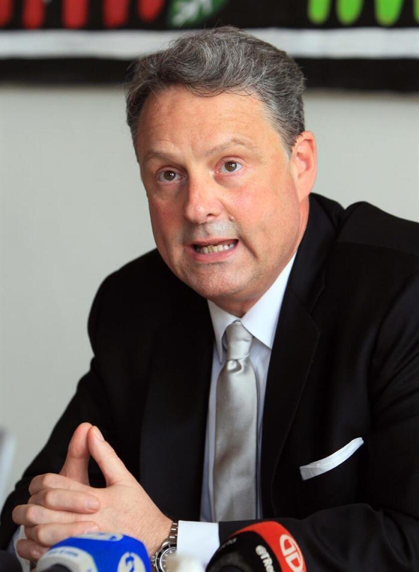 El embajador de Estados Unidos en Panamá, John Feeley. EFE/Archivo