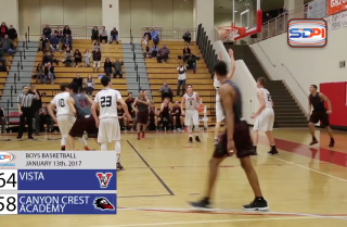 Boys basketball: Vista at Canyon Crest Academy