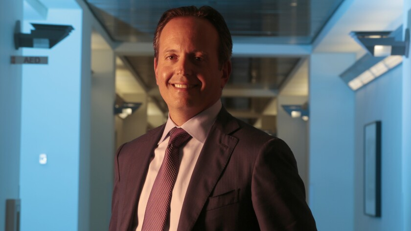"""Allergan Chief Executive Brent Saunders says he'll limit future price hikes to single digits as part of a """"social contract"""" with customers."""
