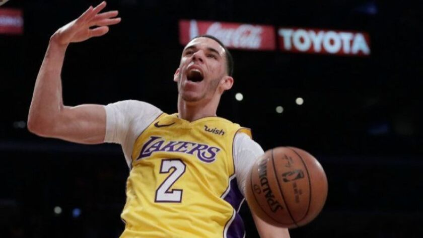 Lakers rookie guard Lonzo Ball has paid $1.625 million for a condominium at the Ritz-Carlton Residences at L.A. Live.