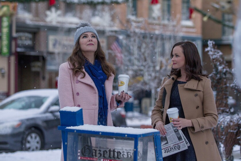 Lauren Graham and Alexis Bledel reflect on their return to 'Gilmore Girls'