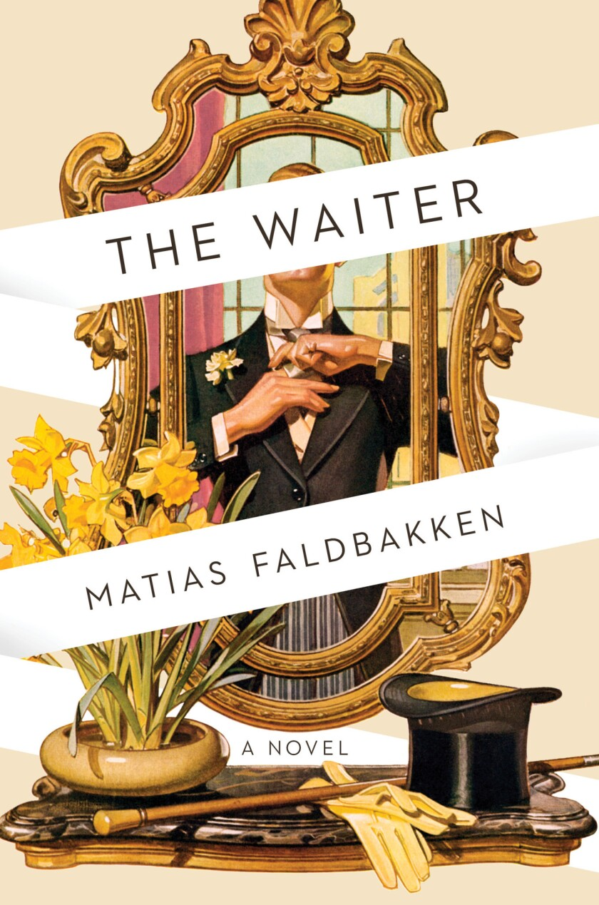 "A book jacket for ""Matias Faldbakken's ""The Waiter."" Credit: Scout Press"