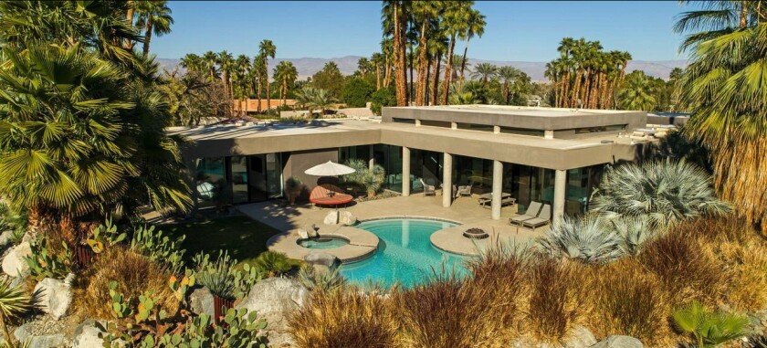 Joan Kroc's former home in Rancho Mirage