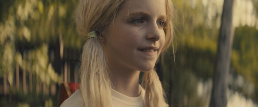"Christmas Flint (Mckenna Grace) is no average 9-year-old in ""Troop Zero."""