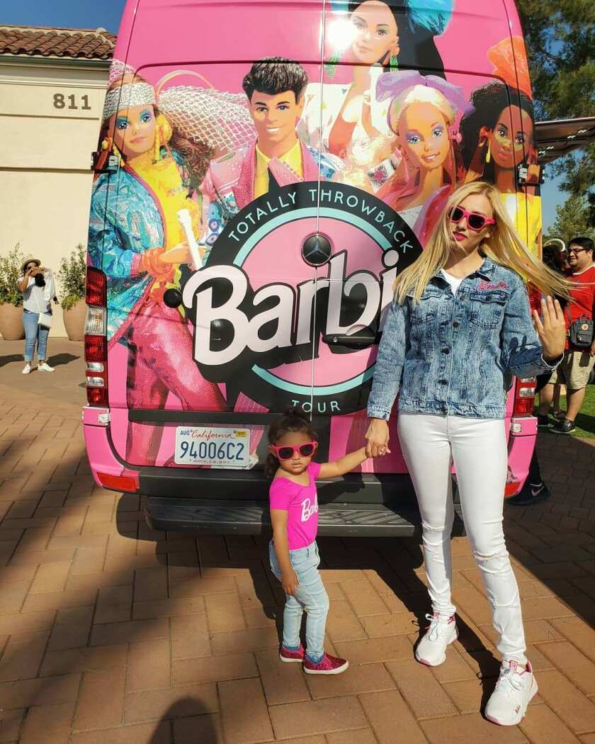 "Barbie's ""Totally Throwback Tour"""