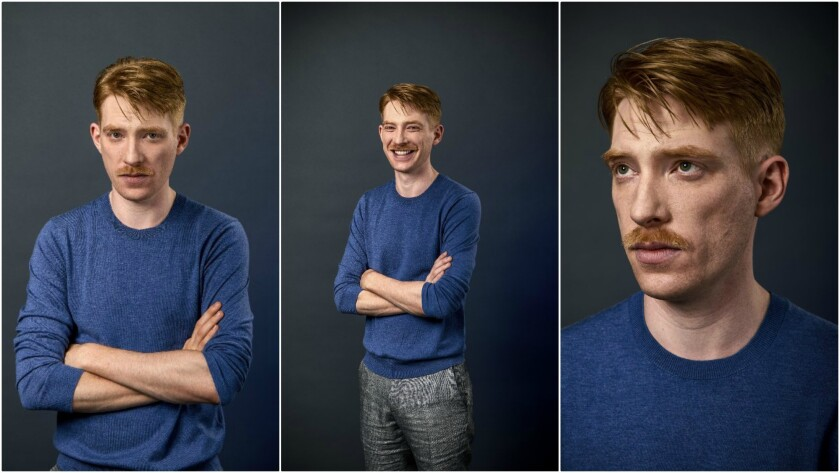 Domhnall Gleeson, Irish actor, photographed at the Soho Hotel, on 19 August 2017, in London, United