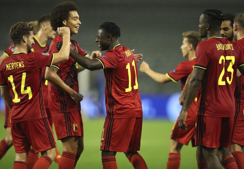 Belgium Beats Iceland 5 1 In Nations League The San Diego Union Tribune