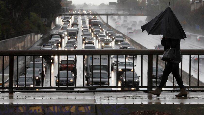 Opinion: Free public transit and roads without traffic? Sounds like a fairy tale, but L.A. can have both