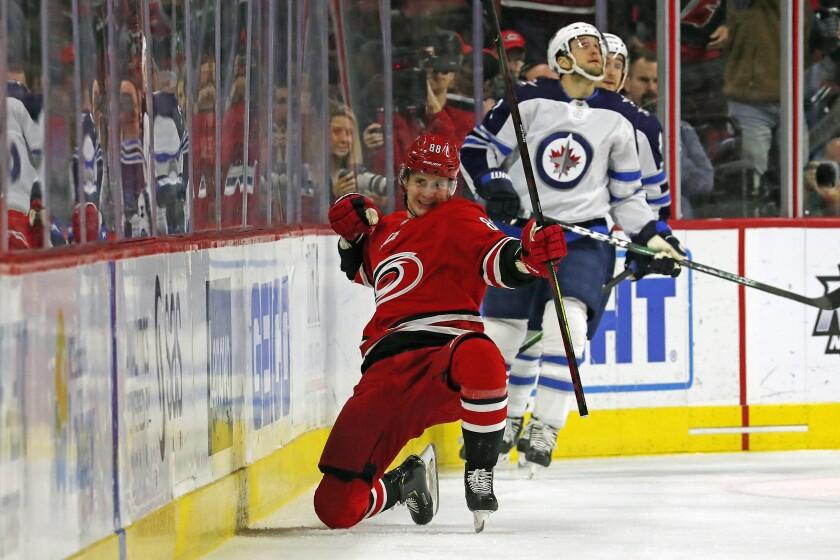 Jets Hurricanes Hockey