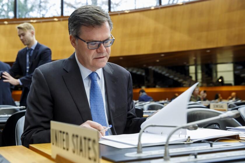 World Trade Organization General Council in Geneva, Switzerland - 09 Dec 2019