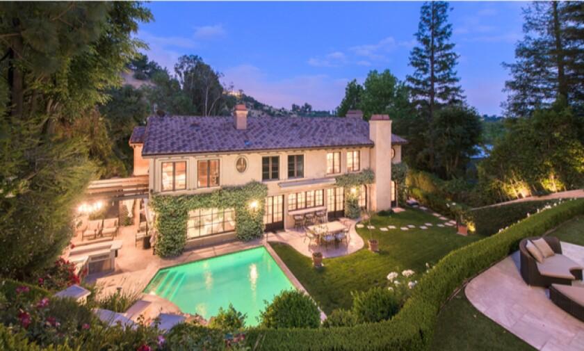Kim Kardashian's former Beverly Hills home