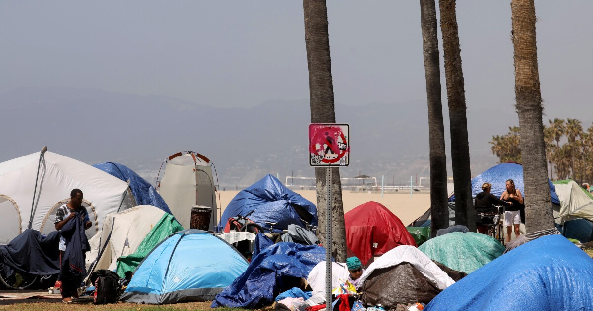 Column: The homeless situation in Venice is complicated. But that's no excuse for inaction