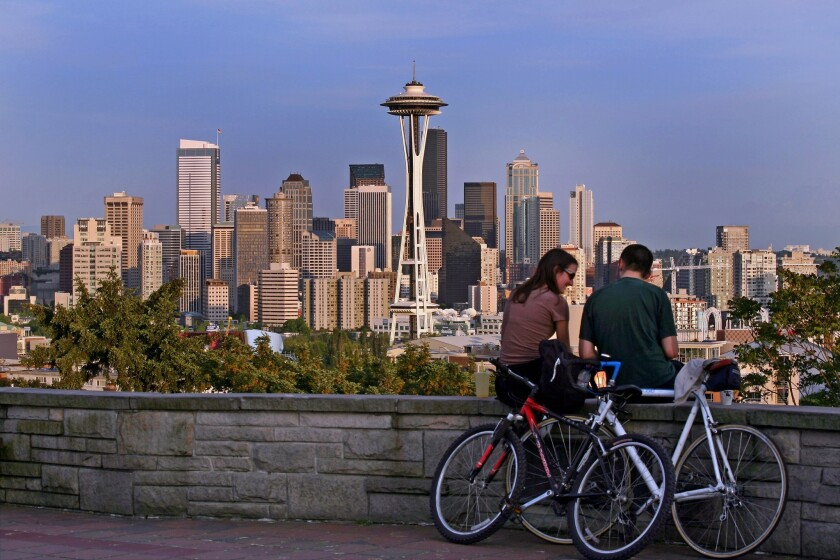 Seattle is the best major metropolitan area in the U.S. to escape the summer heat, according to a new report.