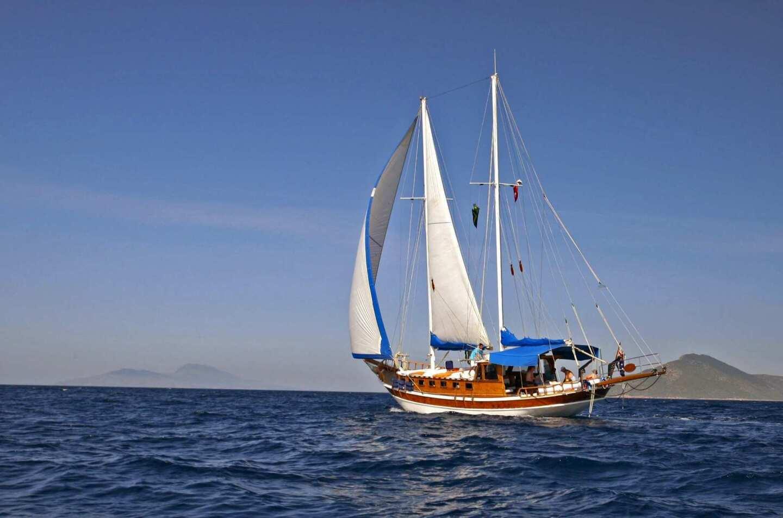 Turkish sailboat
