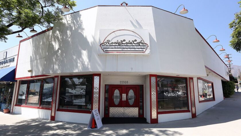 Rocky Cola Café, which closed on at the end of December, 2012, still stands vacant in Montrose on Fr