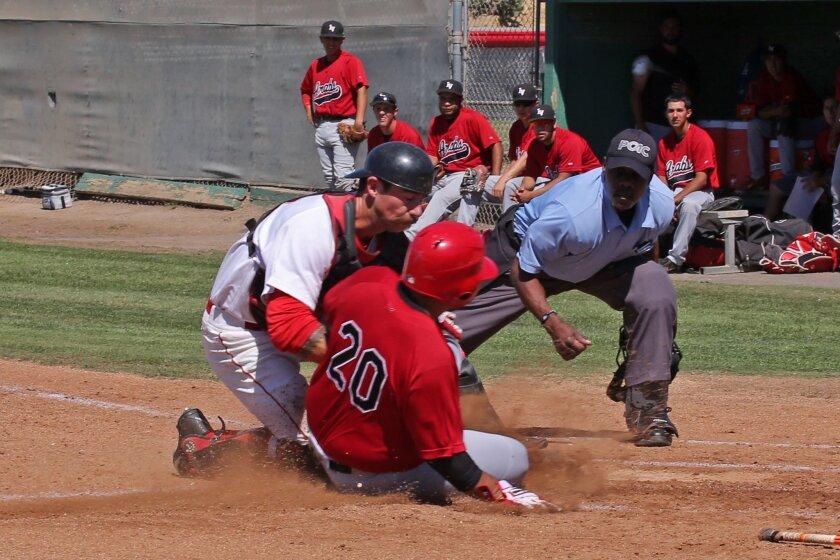 Francis Christy, Palomar College baseball (photo credit: Hugh Cox)