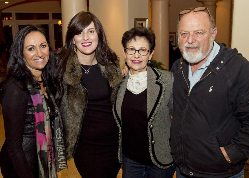 Linda Church, Devora Raskin, Pnina Gruer, Shlomo Gruer