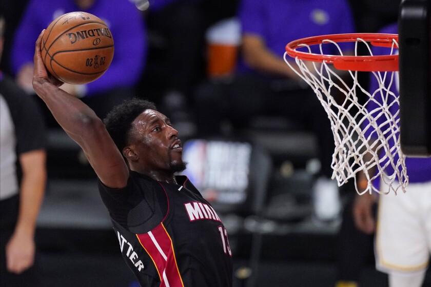 Miami Heat's Bam Adebayo.