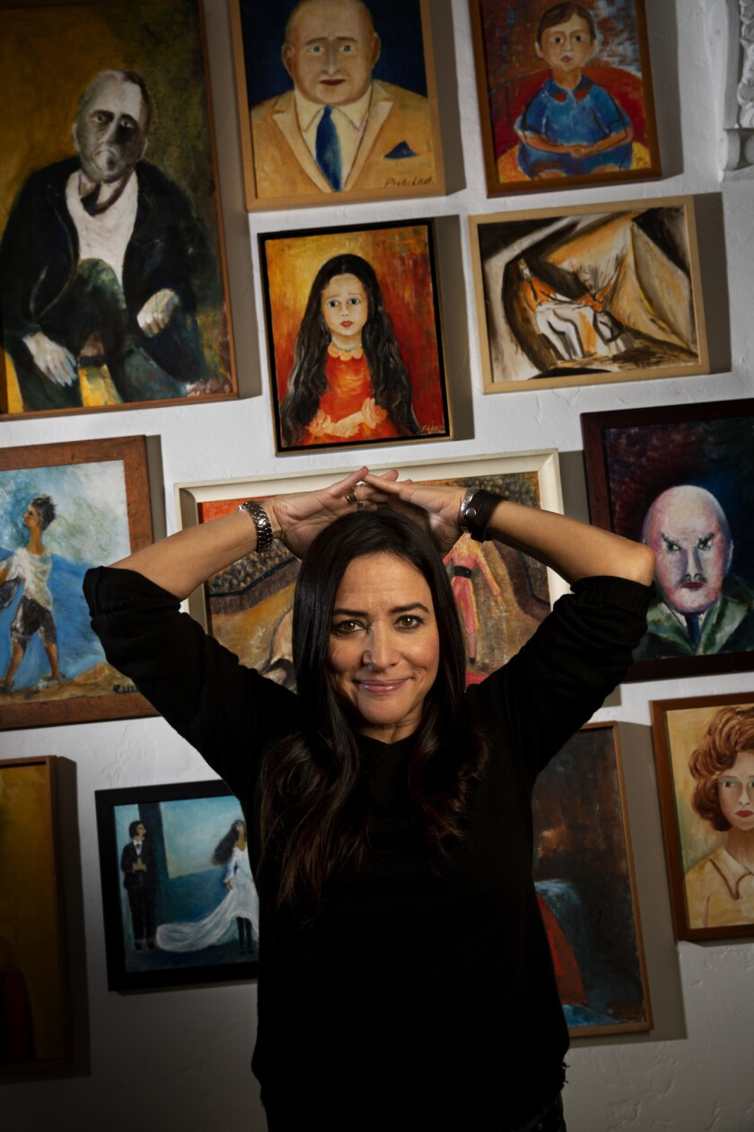 Pamela Adlon is photographed at her office in Beverly Hills.