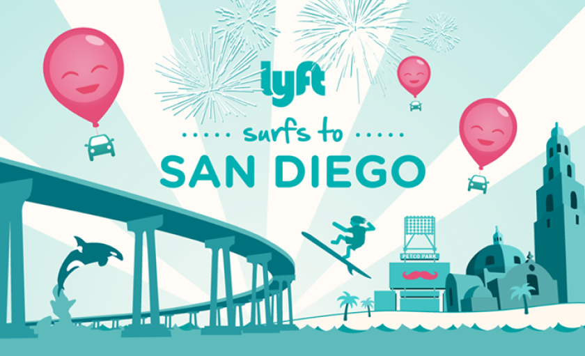 Lyft expands to San Diego amid cease-and-desist order in Los Angeles