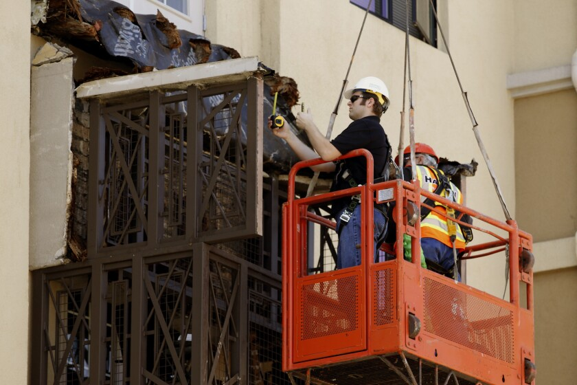 Engineers assess the damage and look for answers after a balcony collapse at an apartment in Berkeley killed six students and injured seven more just a few blocks from UC Berkeley.