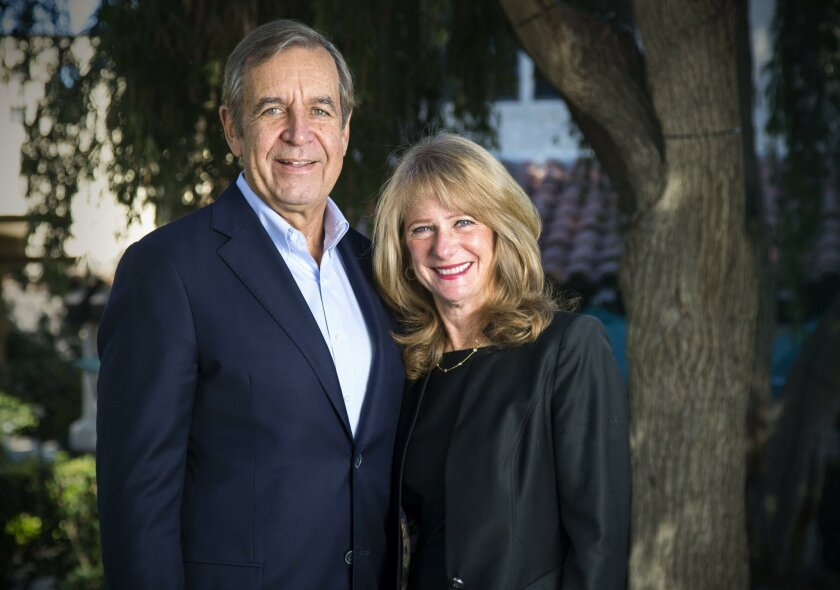 FAIRBANKS RANCH, CA-December 31, 2015: | John and Susan Major have donated $1 million to the La Jolla Institute for Allergy and Immunology to underwrite research. | (Howard Lipin / San Diego Union-Tribune)