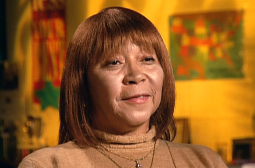 This image from video released by CMT shows country singer Linda Martell during an interview in 2005. Martell, the first Black woman to perform solo at the Grand Ole Opry, will be honored at the 2021 CMT Music Awards on Wednesday. (CMT via AP)