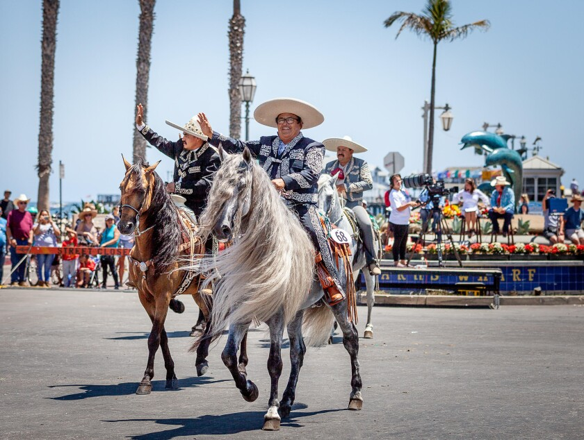 You can see more than 600 horses during Old Spanish Days July 31-Aug. 4 in Santa Barbara.