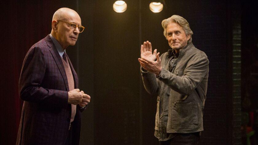 Alan Arkin and Michael Douglas in 'The Kominsky Method'