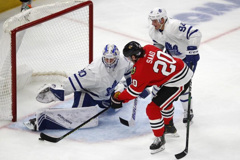 Maple Leafs Blackhawks Hockey