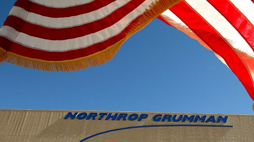 Northrop Grumman is building the Air Force's new B-21 bomber at their Palmdale facility.
