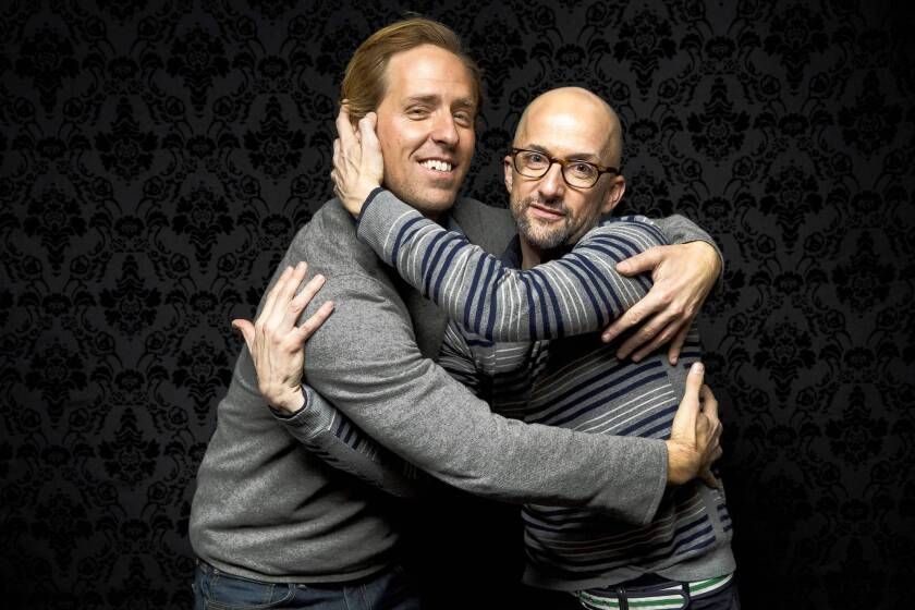 """Nat Faxon, left and Jim Rash are co-writers and directors of the movie """"The Way, Way Back"""""""