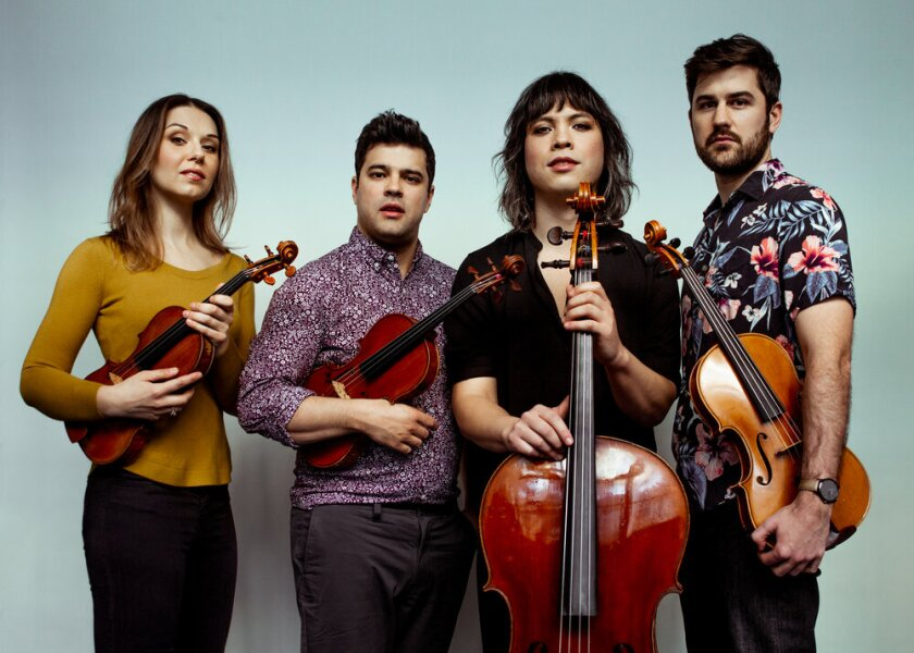 New York's Attacca Quartet will perform in La Jolla as part of the 2021 edition of SummerFest.
