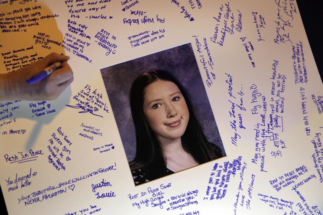 Saugus High School shooting vigil