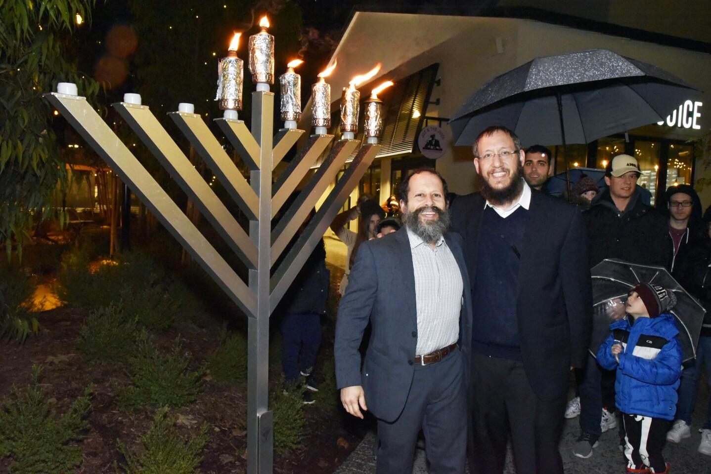 Rabbi Polichenco and Rabbi Raskin