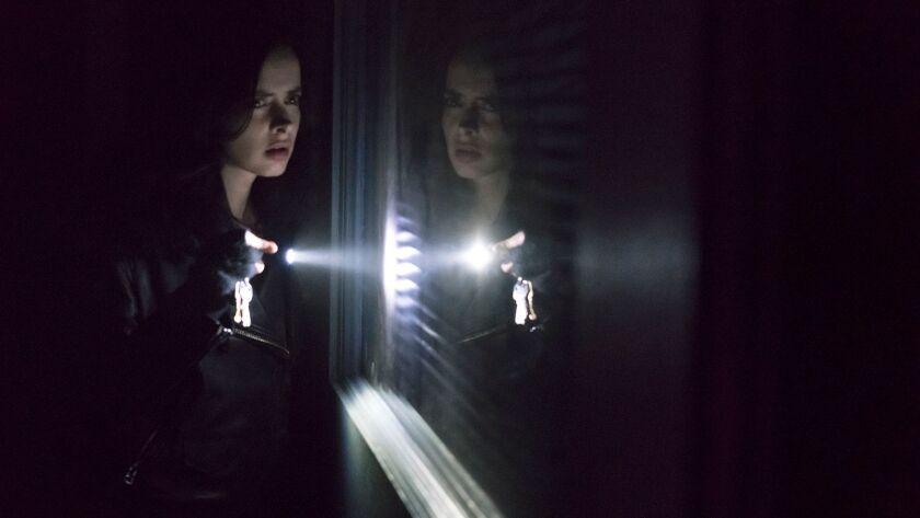 "Krysten Ritter returns for a second season of the action drama of ""Marvel's Jessica Jones"" on Netflix."