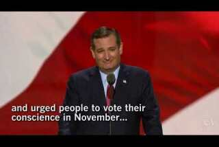 Ted Cruz gets booed at the RNC